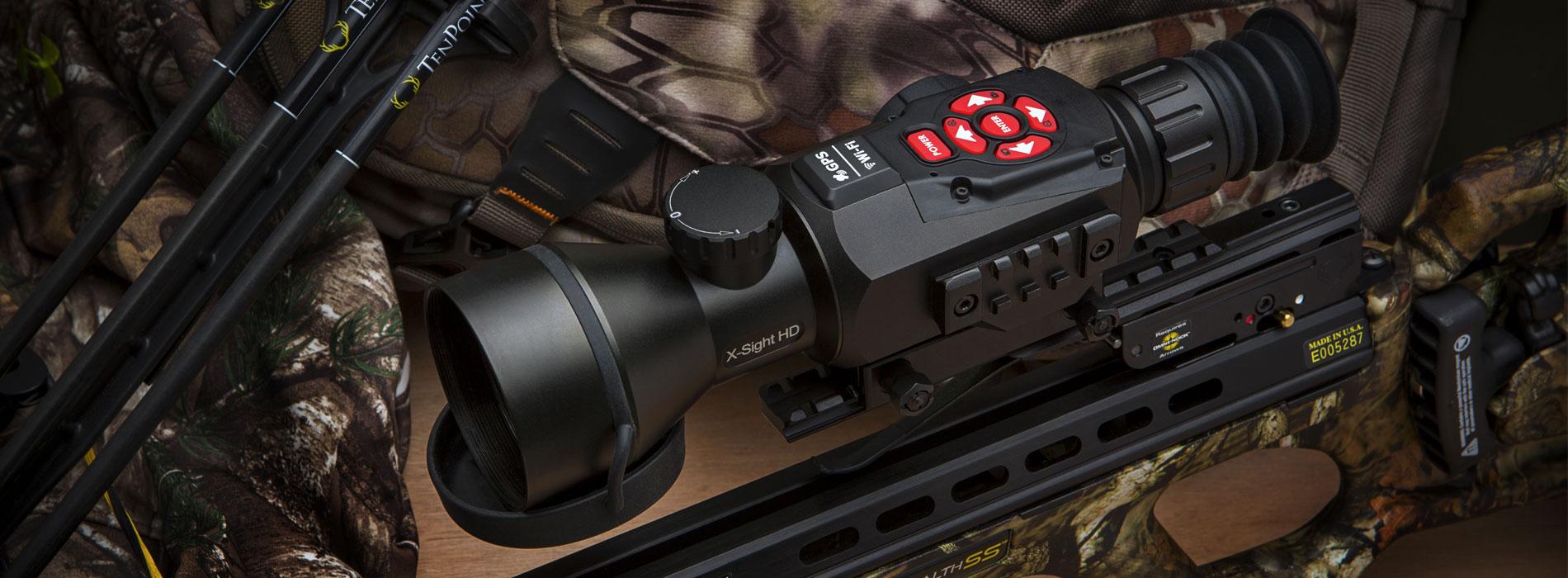 美国ATN X-sight II 5-20数码夜视瞄准镜